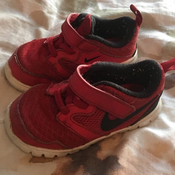 Nike Other - TODDLER RED NIKE SIZE 6T
